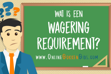 wat is een wagering requirement artikel