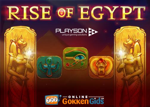 rise of egypt banner