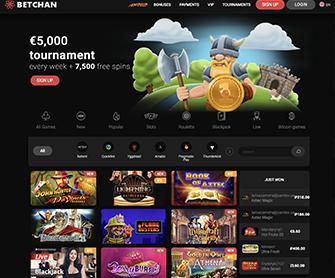 betchan casino homepage