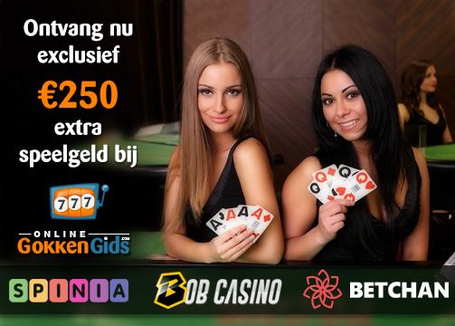 exclusieve bonussen bij casino's banner