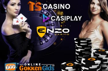 nieuwe online casino's op onlinegokkengids.com toegevoegd