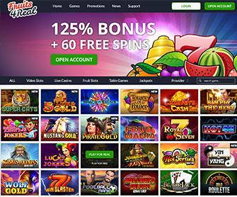 fruits4real casino startpagina