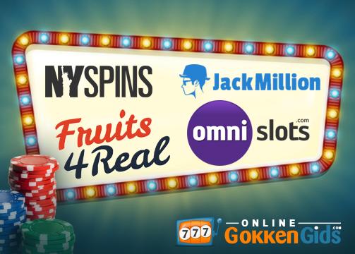 nieuwe casino's banner
