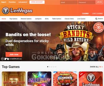 leovegas casino startpagina