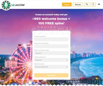 sir jackpot startpagina