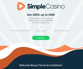 simple casino pagina