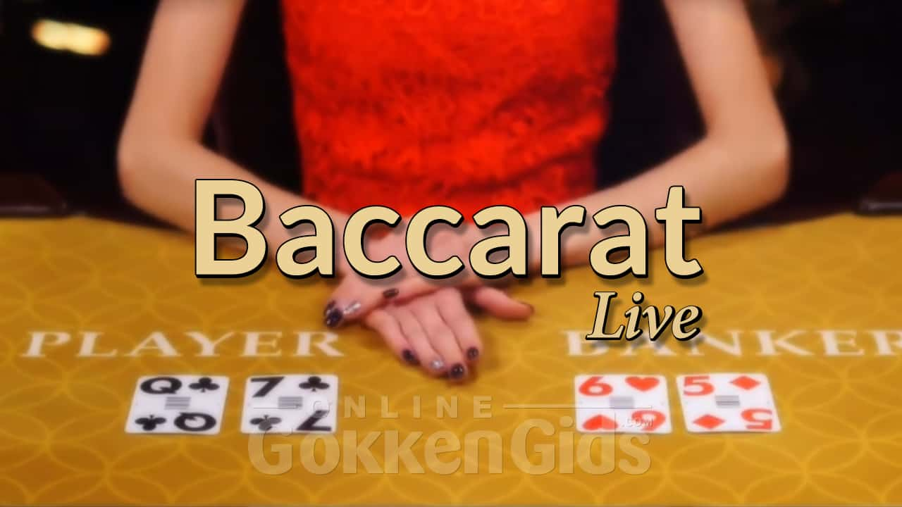 baccarat live image