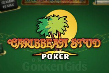 caribbean stud poker casino spel