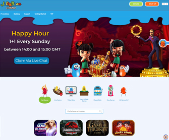 jellybean casino screenshot