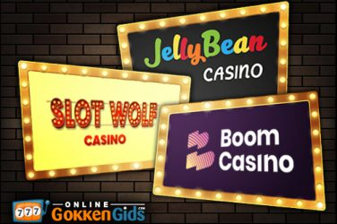 Drie nieuwe online casino's beschikbaar!