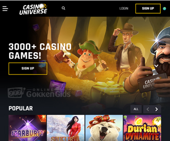 screenshot casino universe