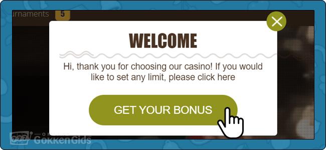 get your bonus